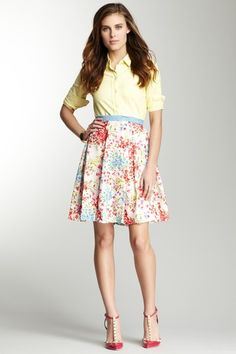 Glen Skirt on HauteLook. This whole outfit is way perfect for spring!