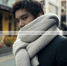 knitted men's scarfs - Google Search