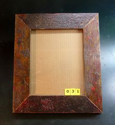 8x10 picture frame made from reclaimed maple flooring.    The wood in this frame came from the floor of the former John Deere factory in Syracuse NY. The building was approximately 100 years old. ReUse Action was contracted to remove the wooden beams a . Very Stylish I must say. You can see some great frames here: