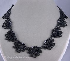 This pattern is available here: http://store.sandradhalpenny.com/wedding-lace-necklace-collection-2008-e-book-p253.php