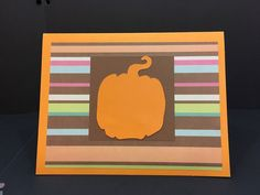 Autumn Thanksgiving Greeting Card   Happy by PaperMoments on Etsy