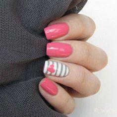 55 Mejores Imagenes De Pink Fucsia Cute Nails Nailart Y Nails Design