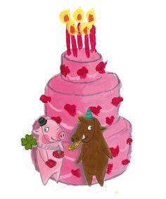 Pig Illustration, Illustrations, Pig Art, Partner, Pigs, Pickles, Christmas Ornaments, Princess, Holiday Decor