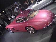 Vintage Pink 300SL Gullwing