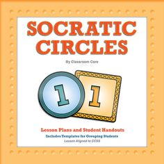 Socratic Circles Lesson Plan: Engage your students in high-level dialogue through Socratic Seminars. This resource details the steps for implementation of Socratic Circles, and it includes great templates and student guides. CCSS-Aligned. Grades 6-8. $3.00