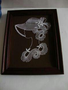 Nail String Art, Lace Art, Needle Tatting, Burlap Crafts, Bobbin Lace, Fantasy Artwork, Objects, Hobbit, Kawaii