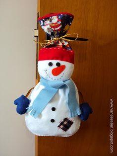 Vanessa Biali: Apostila Embalagem Boneco de Neve