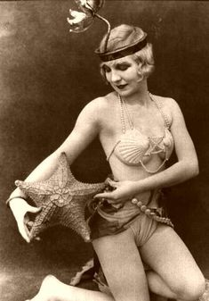1920s mermaid.