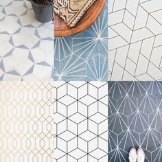 If you follow me on  Pinterest you may have noticed I've been collecting tile inspiration for a couple of new tile effect papers. What do you guys think? Which is your fave? X Steph. . . . . #tilestyle #tileinspo #geometric #inspiration #tinyinteriors