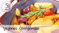 Oven vegetables with vegan potatoes – vegan oven vegetables Simply quick! Halloumi, Quick Vegan Meals, Vegan Recipes, Quick Recipes, Oven Vegetables, Cantaloupe, Healthy Life, Fruit, Oven Potatoes
