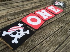 ONE Pirate Party High Chair Banner- Pirate Party, First Birthday, Under the Sea,Photo Prop, Birthday Party by BlueOakCreations on Etsy https://www.etsy.com/listing/262164641/one-pirate-party-high-chair-banner