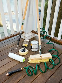 Outdoor Deck Cleaning and Staining Guide : How-To : DIY Network