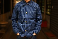 edwin overworks factory railroader jacket - Google Search