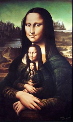 A família da Monalisa!✖️Mona Lisa [Stef et Mag] (Gioconda / Mona Lisa)✖️Fosterginger.Pinterest.Com.✖️More Pins Like This One At FOSTERGINGER @ Pinterest ✖️No Pin Limits✖️