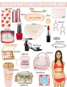 20 Valentine's Day Gifts for Her | Life with Emily