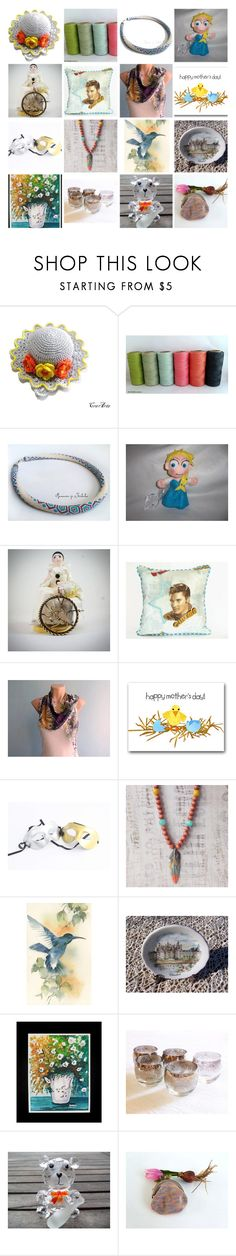 """May on Etsy"" by oxysfinecrafts ❤ liked on Polyvore featuring Disney and Masquerade"