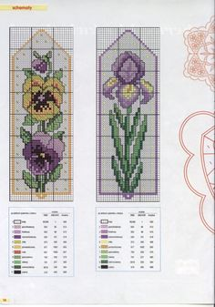 Gallery.ru / Фото #22 - 9 /2003 - gabbach Tiny Cross Stitch, Cross Stitch Bookmarks, Cross Stitch Books, Cross Stitch Cards, Cross Stitch Borders, Cross Stitch Flowers, Cross Stitch Kits, Cross Stitch Designs, Cross Stitching