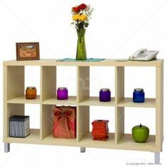 Q Box 4x2 Shelving Unit - Natural 153.2cm (W) x 39cm (D) x 90cm (H) Individual Shelves: 35 (W) x 38 (D) x 35 (H) $159