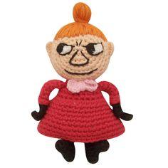 cloth-ears: retro crochet moomin little my Crochet Patterns Amigurumi, Crochet Dolls, Crochet Hats, Cute Crochet, Crochet For Kids, Disaster Designs, Bear Toy, Little My, Diy Toys