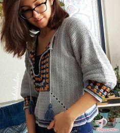 В основе бабушкин квадрат. Простой джемпер - Все в ажуре... (вязание крючком) - Страна Мам Crochet Blouse, Crochet Top, Eminem, Crochet Clothes, Free Pattern, Retro Vintage, Crochet Necklace, Cover Up, Instagram Posts