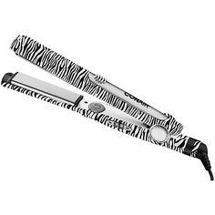 conair zebra print flat iron – One of my hair tools ; Hair A, Hair Type, Ceramic Flat Iron, Hair Tools, Ceramic Plates, Zebra Print, Straightener, Print Patterns, Long Hair Styles