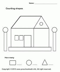 Shape activity for pre school