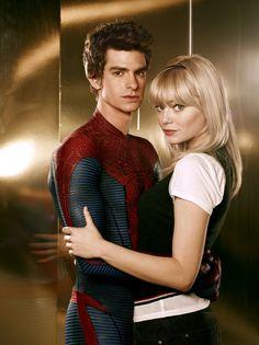 Peter Parker e Gwen Stacy!