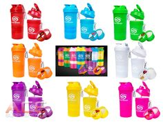 DESIGN YOUR OWN Neon SmartShake Smart Shake Protein Shaker - PICK YOUR COLOURS