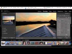 Adobe Lightroom 5 Tutorial | Using The Graduated Filter - YouTube