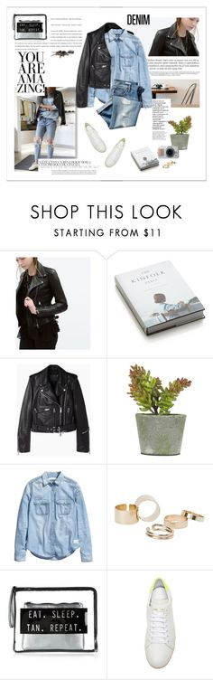 """""""..."""" by yexyka ❤ liked on Polyvore featuring Zara, Crate and Barrel, R13, H&M, Gap, MANGO, Yves Saint Laurent and Denimondenim"""