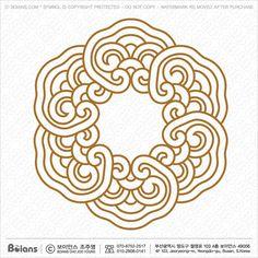 ㅗ호호ㅗㅎㅎ Chinese Ornament, Tiger Drawing, Embroidery Monogram Fonts, Korean Painting, Chinese Patterns, Blue And White Vase, Celtic Art, Celtic Designs, Applique Quilts