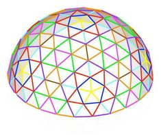 Use this geodesic dome calculator if you are using our standard geodesic hub connectors. Calculate the required PVC strut lengths to match your kit and build. Geodesic Sphere, Dome House, The Struts, Calculator, Greenhouses, Building Ideas, Yandex, Shelter, Pergola