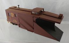 HO RTR Russell Snow Plow Boston & Maine RR # 3738