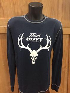 Hoyt Thermal Skull Long Sleeve Men's Shirt