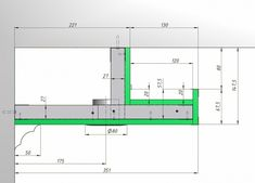 Section diagram dimensioned for reference in cove lighting Cove Lighting Ceiling, Ceiling Light Design, False Ceiling Design, Ceiling Decor, Lobby Interior, Interior Lighting, Lighting Design, Hidden Lighting, Strip Lighting
