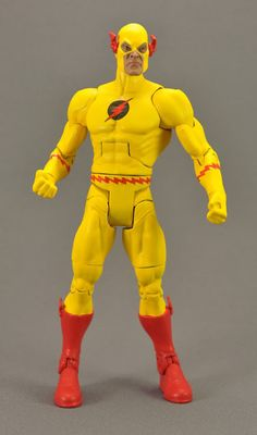 I was very proud of this custom Reverse Flash in the DCUC style when I finished it - it was one of my very first.  Sadly, they've done a real one since, so I've gotta make an executive decision.