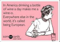 American vs. European.