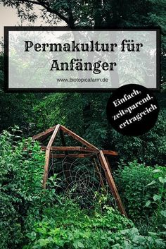 Permaculture for beginners - How to make the entrance easier .- Permakultur für Anfänger- So erleichterst du dir den Einstieg Make it easier for you to start permaculture! Here& a step by step guide on how to set up a quick bed. Hydroponic Gardening, Hydroponics, Organic Gardening, Organic Fertilizer, Urban Gardening, Herb Garden Design, Backyard Garden Design, Rustic Backyard, Garden Deco