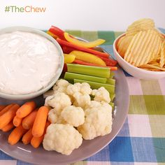 2-Minute Blue Cheese Buffalo Dip by Clinton Kelly. #TheChew
