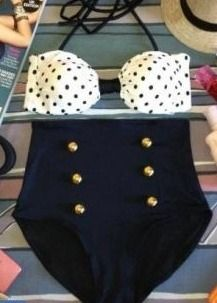High Waisted Swimsuit :)