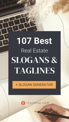 Your slogan or tagline isn't your elevator pitch; it is your elevator DOOR pitch. We put together a list of 107 best real estate marketing slogans and taglines for 2022. Review our favorites and test our handy slogan generator to find real estate slogans that work for your brand and market. Real Estate Slogans, Modern Rustic Bedrooms, Marketing Slogans, Value Proposition, Real Estate Marketing, Elevator Door, Words, Pitch