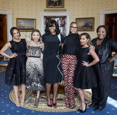 Talk show hosts Adrienne Bailon, Tamar Braxton, Loni Love, Jeannie Mai and Tamera Mowry Housley got the chance to sit down with FLOTUS inside the White House to chop it up about Mrs. Obama's Reach Higher initiative and the Better Make Room campaign