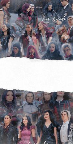 Disney Descendants Cast, Descendants Pictures, Sofia Carson, Cameron Boyce, Live Action Movie, Action Movies, Disney Channel Movies, Disney Decendants, Naruto Shippuden Sasuke