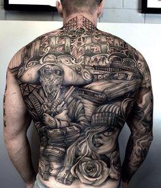 back tattoos for men ideas and designs for guys pinterest rh pinterest com Back Tribal Tattoo Designs for Men Full Back Tattoo Designs for Men