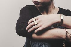 HUNT AMOR. Brooklyn Ring. Design: Chris Provins & Amor Carandang, Model: Roanne Mendoza, Photography: Seth Hardie.