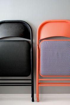 MAKEKIND 22 — Folding Chair makeover