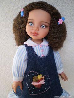 Добрый вечер! Представляю Вашему вниманию мою новую, милую девочку, Анжелу, ООАК куколки Мали от Паола Рейна. Девочка получилась красивая, гораздо