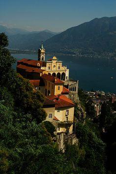 Madonna del Sasso, Locarno, Switzerland (by Brigitta Multerer).