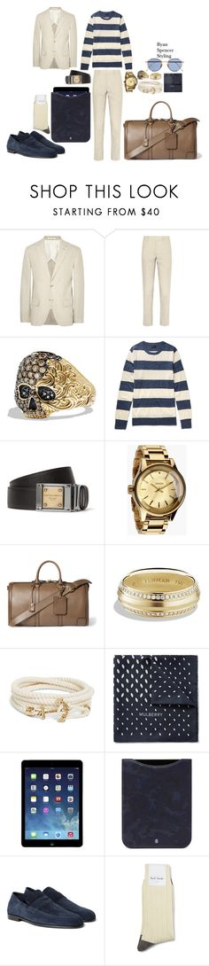"""F/W 17"" by spencer-clowers ❤ liked on Polyvore featuring Club Monaco, David Yurman, J.Crew, Dolce&Gabbana, Nixon, Burberry, Brooks Brothers, Mulberry, Harrys of London and Paul Smith"