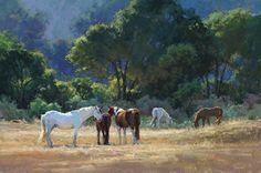 Sultry Summer Days by Kim Lordier Pastel ~ 24 x 36